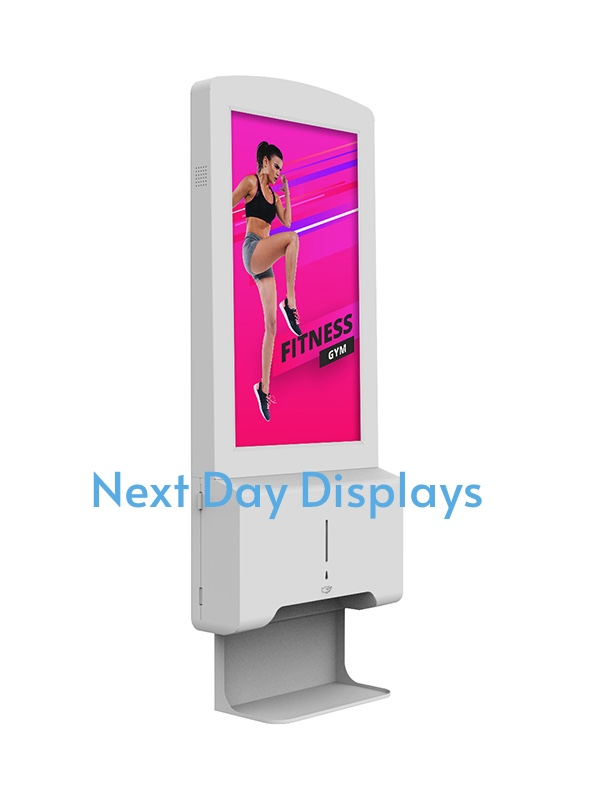 Hand Sanitiser Android Advertising Display (Wall mounted)
