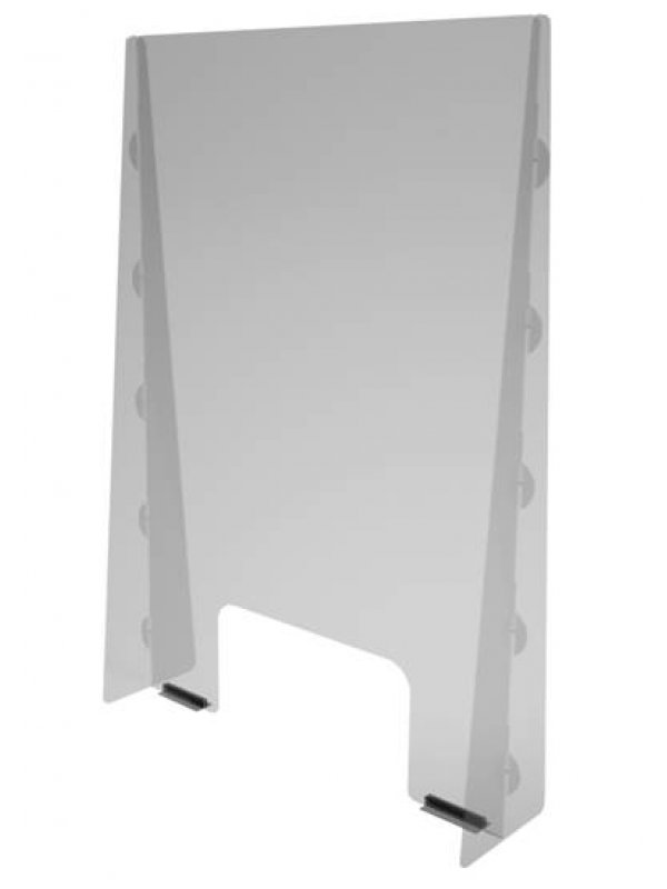 Sneeze Screens Checkout Shield 800mm high x 600mm wide