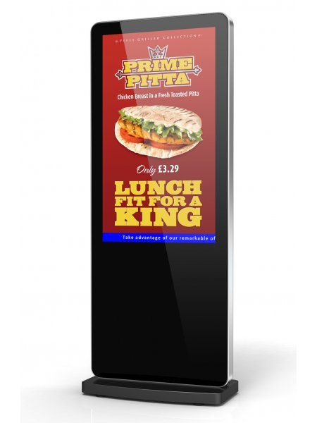 Android Freestanding Digital Posters 50""