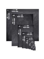 Unframed EasytoClean A4 Chalk Boards