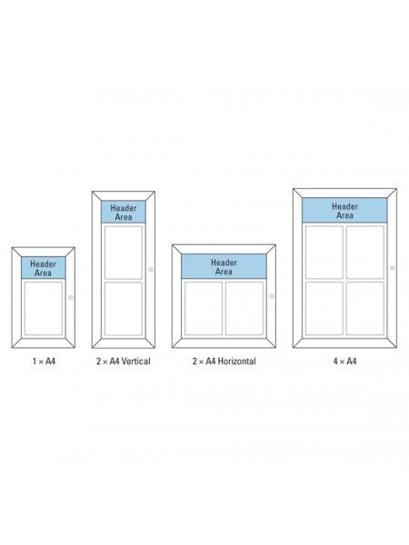 Menu Case 2 x A4 Vertical