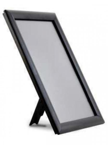 Counter stand A6 Black frame
