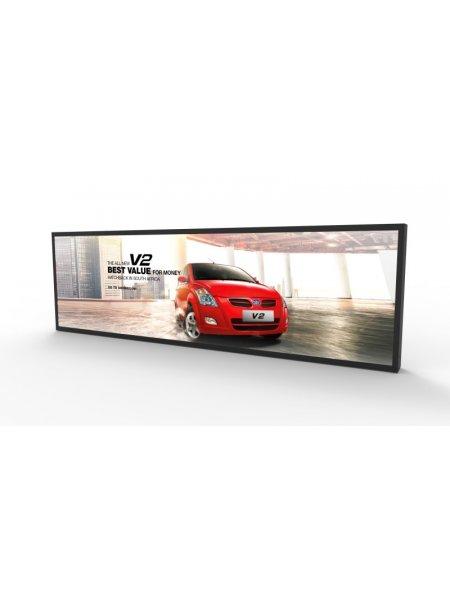 Ultra Wide Digital Signage Display Screens 21ins