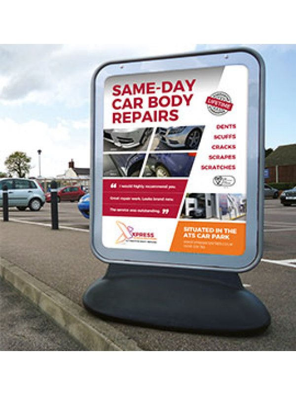Sentinel Poster (60ins x 40ins poster size) Forecourt Sign