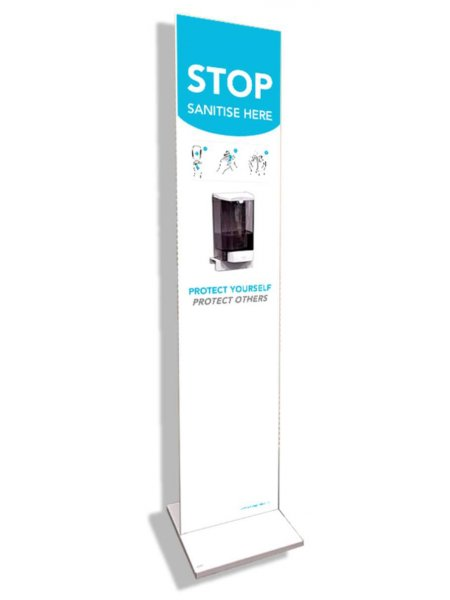 Floor Standing Hand Sanitise Station
