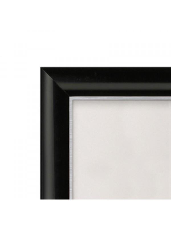 Snap Frames A6  BLACK 15mm Profile