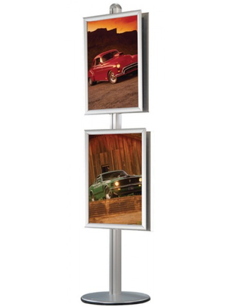 500mmx700mm Poster Frames (mitred corners) for pole system
