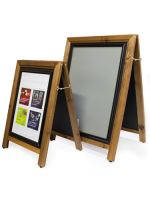 Wooden  A Board holds A2 posters