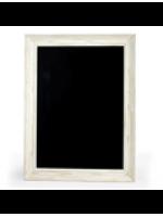 White Framed Chalkboards A3