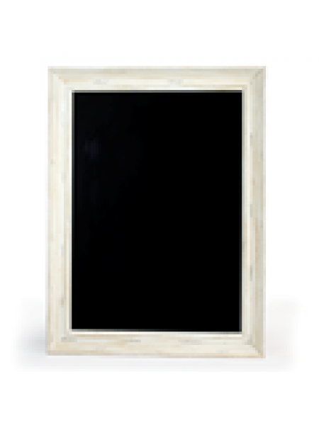White Framed Chalkboards A1