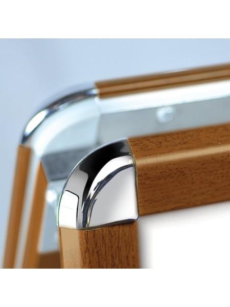 A Board 20ins x 30ins OAK Wood Effect Frame