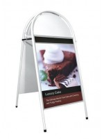 Booster  A Board  (WHITE frame) A1