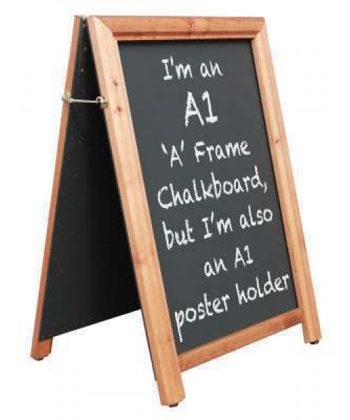 A1 Wooden Poster Holder A Board (1)