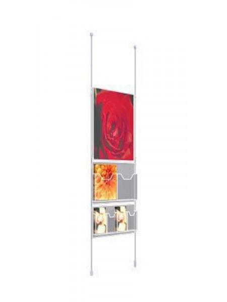 Ceiling-Floor Kit A2 Pocket+Dispensers