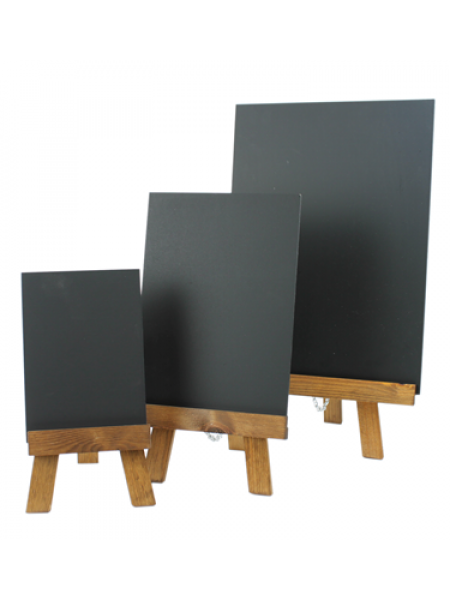 A5 Table Top Easel easy clean Chalkboard