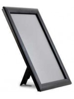 Counter stand A5 black frame