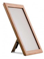 Counter stand A4 wood frame