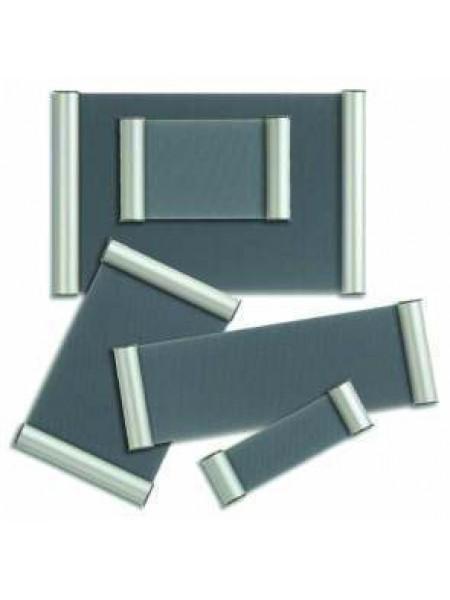 Door Signs SILVER 50mm x 148mm
