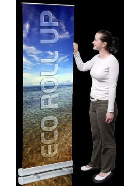 A Roll up Roll Down Banner (includes printing)