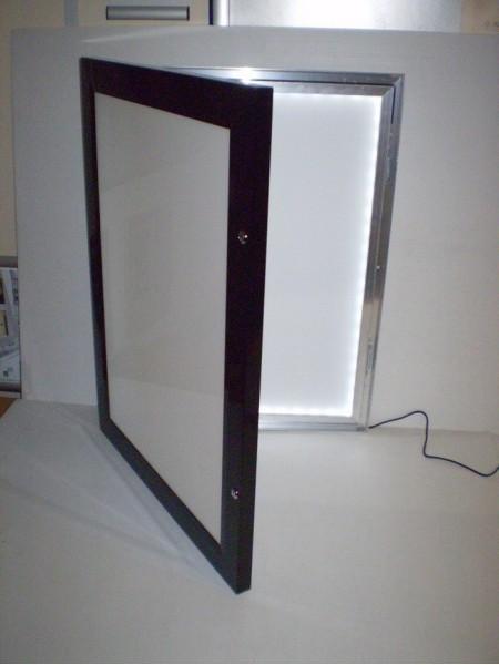 Black Menu LED Menu box