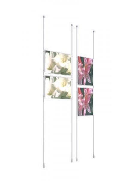 2 Poster A3 Portrait Cable Kit