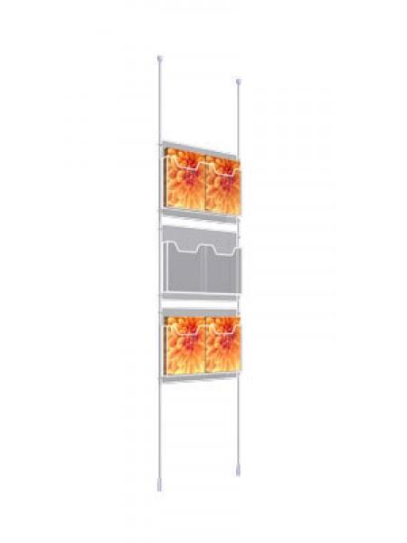 2x3 A4 Leaflet Dispenser