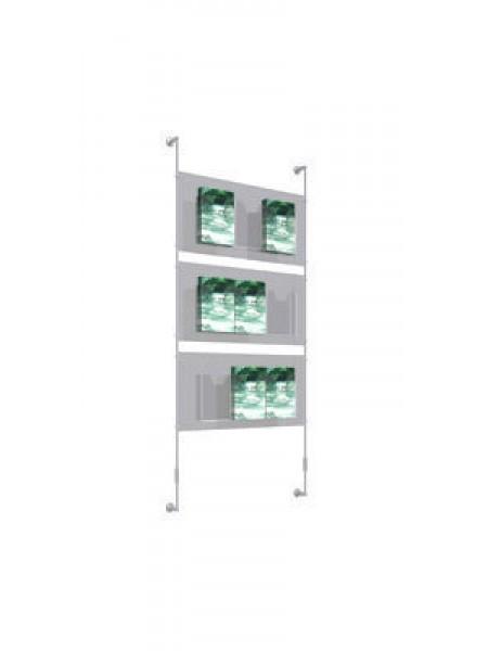 3x3 A4 Leaflet Dispenser