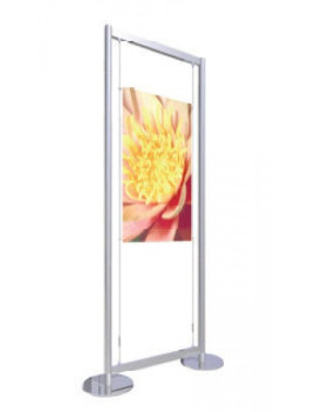 A1 Portrait Freestanding Poster Display