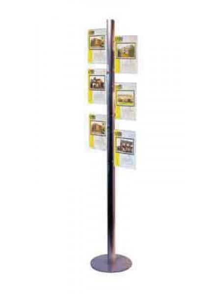 2x3 A4 Landscape Freestanding Poster Tree