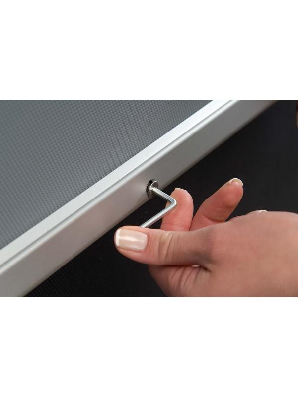 Aluminium Silver Key Lock FramesPoster Frames