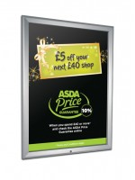 A0 poster size Lockable Snapframe