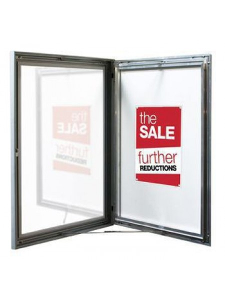 Notice Board Magnetic 4x A4 Size