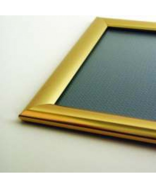 Polished Gold 25mm Snapframe (5)