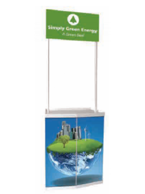 Promo Stand Printed SMALL