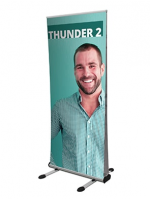 Thunder double sided EXTERIOR use Banner  PRINTED