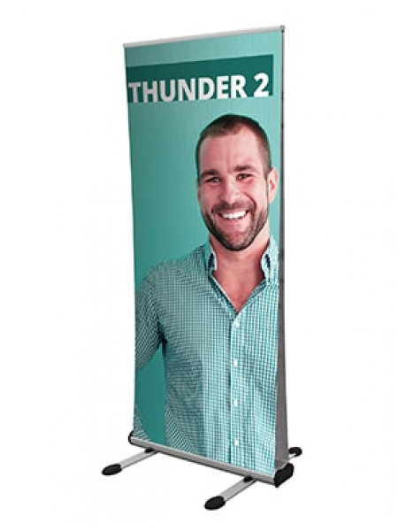 Thunder double sided Banner NOT PRINTED