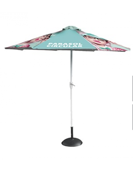 The Circular Parasol Printed