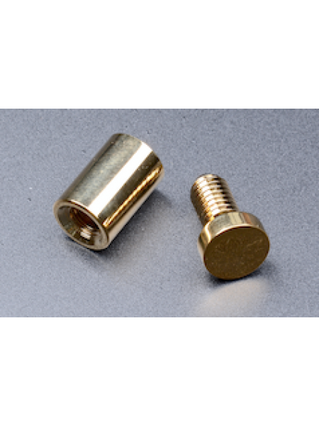 Gold Stand off 13mm diax19 mmH