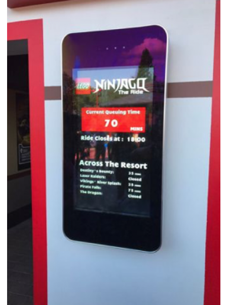 Outdoor 22ins Digital Signage Screen