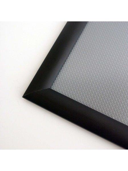 Snap Frames 40ins x 30ins BLACK 25mm Profile