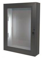 Tradional Lockable LED Illuminated  Menucase A2 portrait