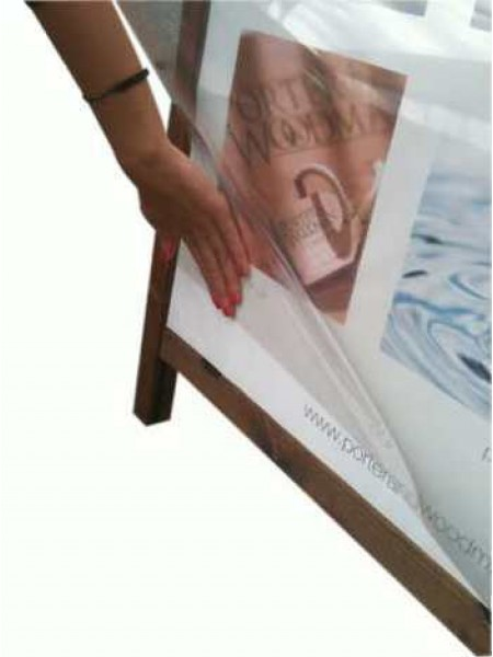 A Easy Change A2 Poster Holder A-Board Chalkboard