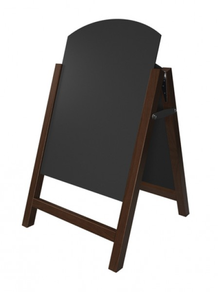 Premier Chalk A-Board (large) Oak Finish