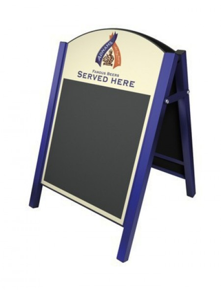 Premier Chalk A-Board with printed panels prices from