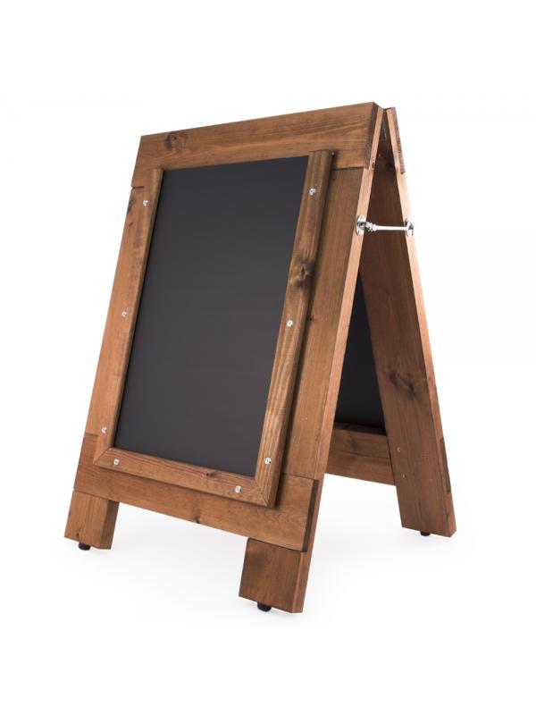 A0 Heavyweight Reversible A-Frame Chalk Board