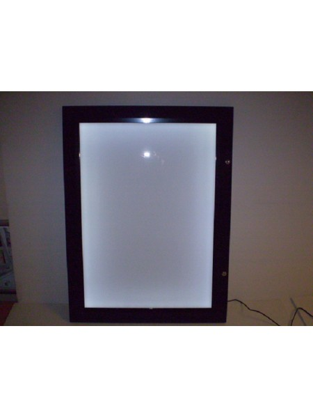 1x Menu-Lite - Black A3  LED Illuminated Menu Case