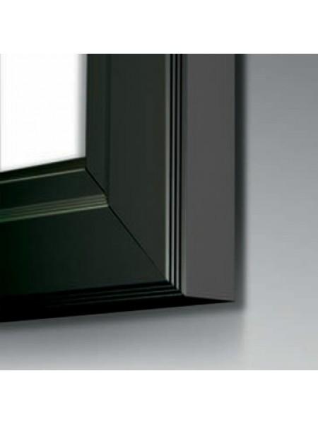 BLACK Slimlok3 (A0) Poster Case With stays