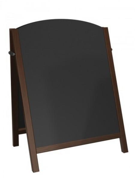 Premier Chalk A-Board (small) Oak Finish