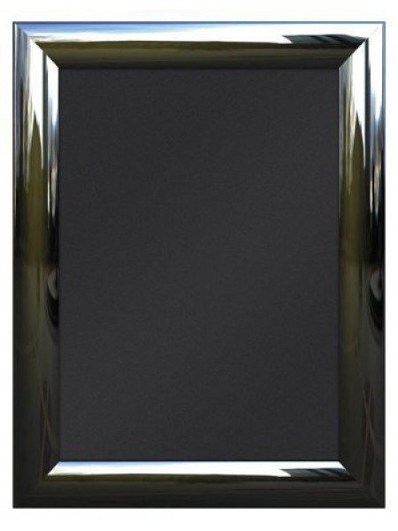 Snap Frame A1 POLISHED SILVER-Wet Chalk Boards & poster holding