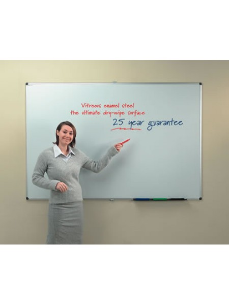 Ultra Smooth Magnetic Whiteboard 120x90cm